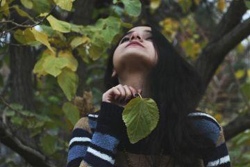 me autum photography portrait feeling