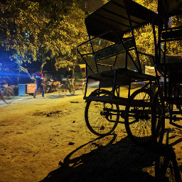 freetoedit photography eveningphotography nightphotography rikshaw