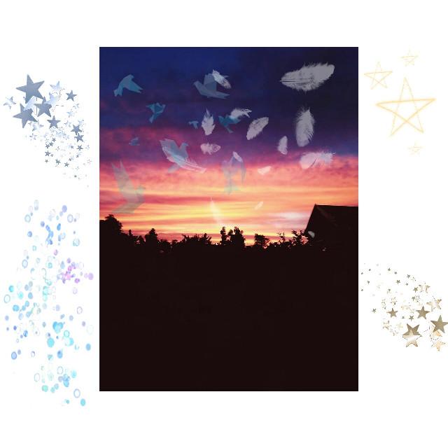 #sky #picsart  #picoftheday