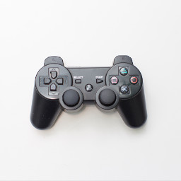 freetoedit joystick gamepad playstation white