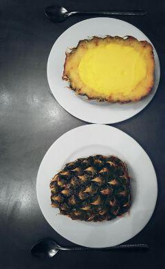japanese icecream pineapple sorbet dessert