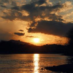 freetoedit sunset sun river iran