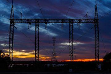 sunset powerlines nature naturephotography photography