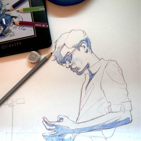 #drawing,#wip