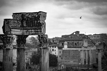 blackandwhite rome cityscape monochrome city