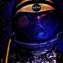 freetoedit remixed dailyremixmechallege space galaxy