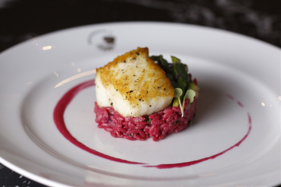 #Halibut #Beetroot #Riso #Chef #ChefNung
