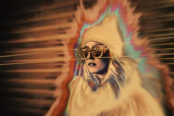 remixit lady abstract myedit myart