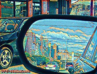 reflection rearview mirror mirrorart picsart