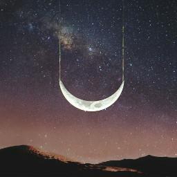 freetoedit moon night myedit madewithpicsart