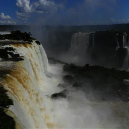 argentina falls photograpy nature