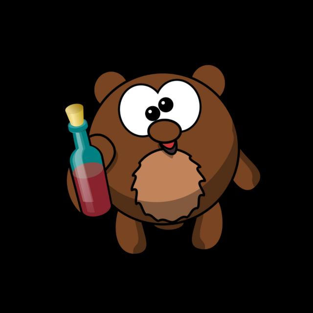 #FreeToEdit #fte #ftestickers #funny #cute #bear