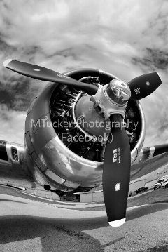 aviation blackandwhite photography b17 vintage