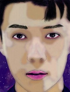 freetoedit exo sehun galaxy