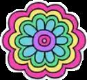 ##flower #pink #blue #green #yellow #sticker #freetouse #freetoedit #flowerpower #colorfulflowers