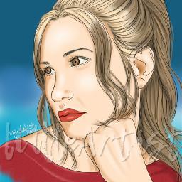 drawing digitalart autodesksketchbook colorful portrait