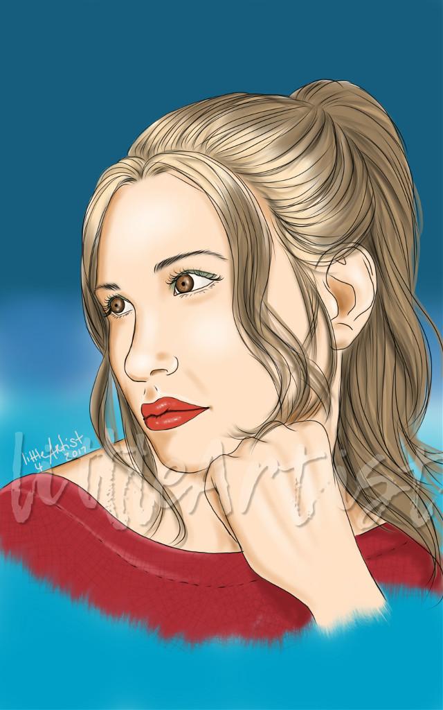 #drawing #digitalart #autodesksketchbook #colorful  ,#portrait #hair #woman#womanportrait