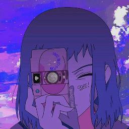 aesthetic anime camera vaporware grudge freetoedit